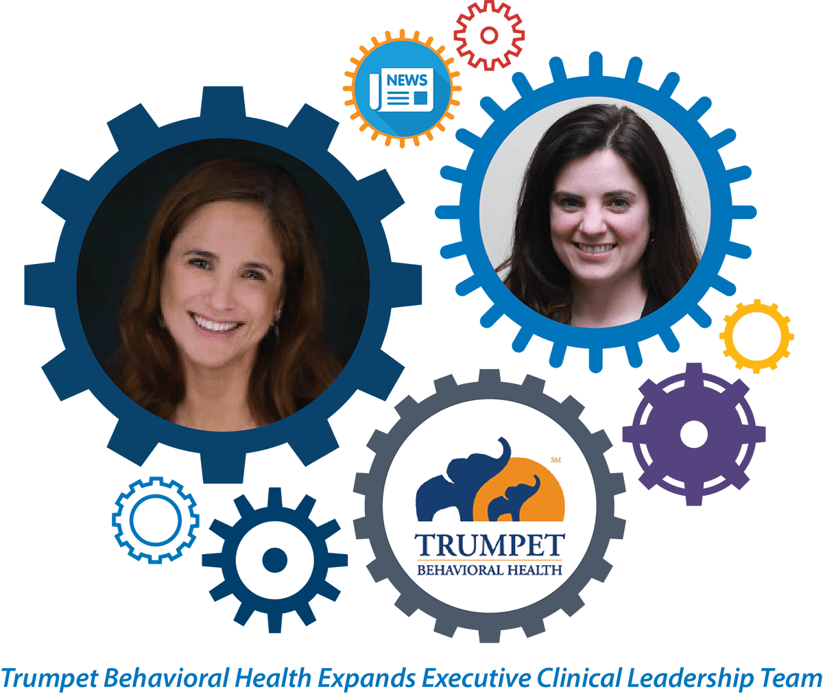 Trumpet Behavioral Health Expands Executive Clinical Leadership Team