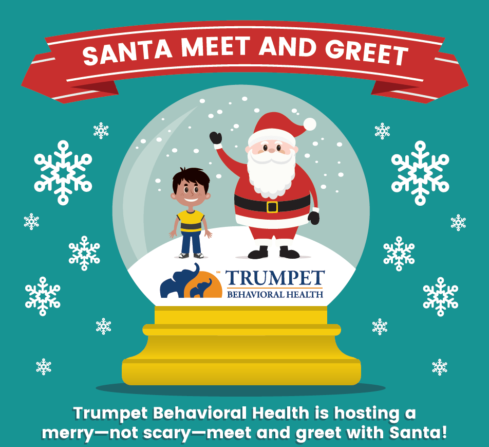 Santa Meet And Greet Aba Treatment Trumpet Behavioral Health
