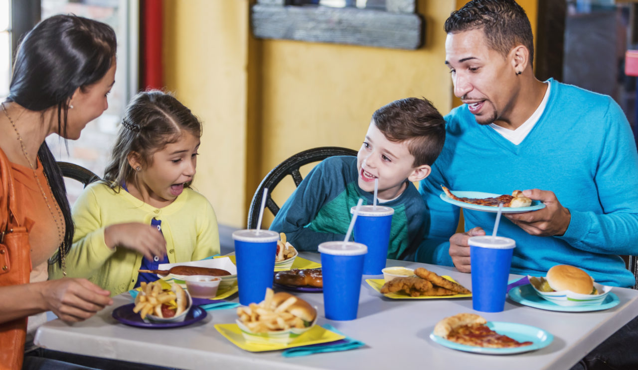 Three tips for going out to eat with kids with autism